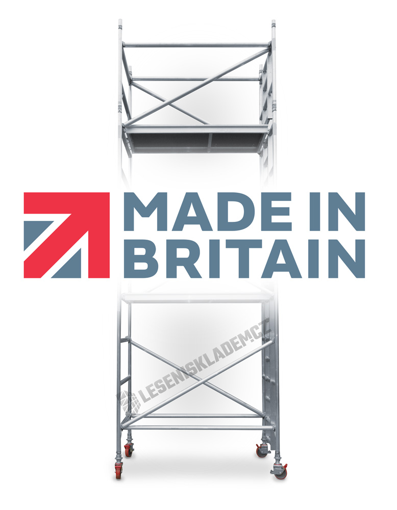 Lešení UTS - MADE IN BRITAIN